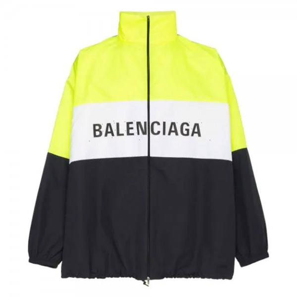 Balenciaga Logo Mont Erkek Sarı