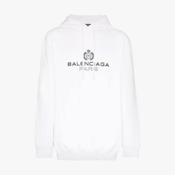 Balenciaga BB Sweatshirt Beyaz Kadın