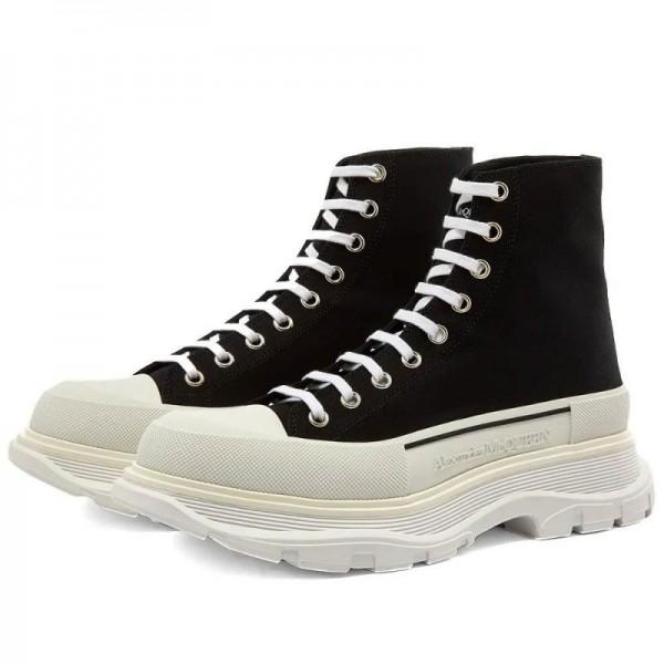 Alexander Mcqueen Tread Ayakkabı Siyah
