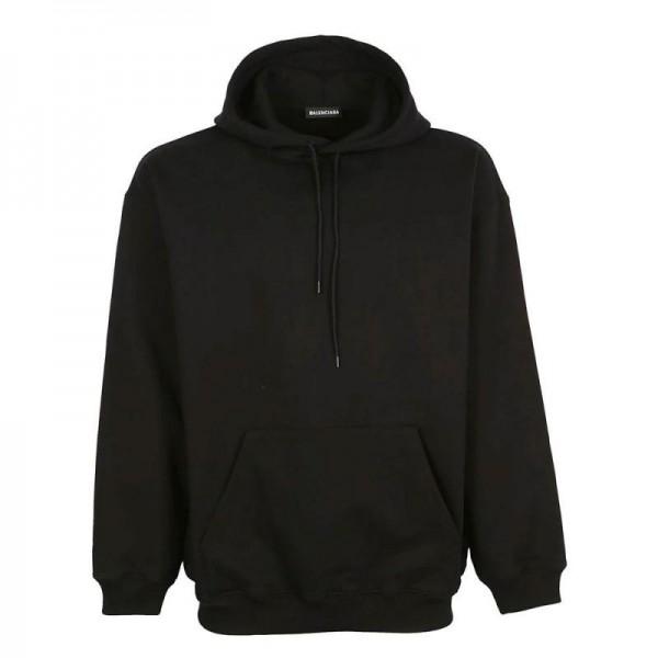 Balenciaga Back Logo Sweatshirt Siyah