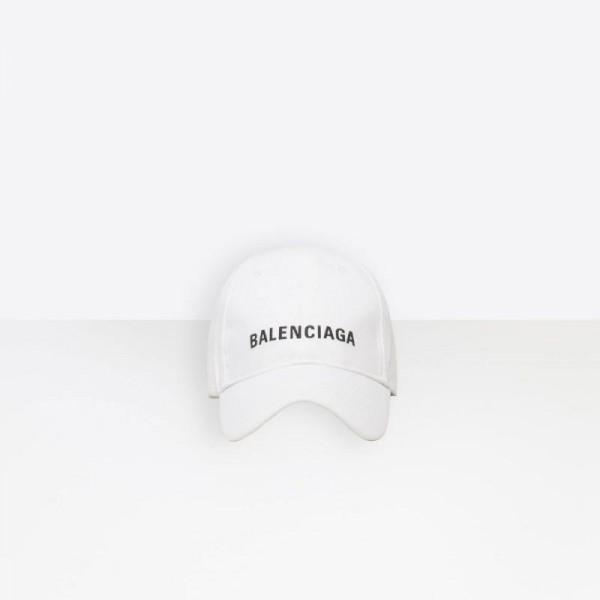 Balenciaga Baseball Şapka Beyaz
