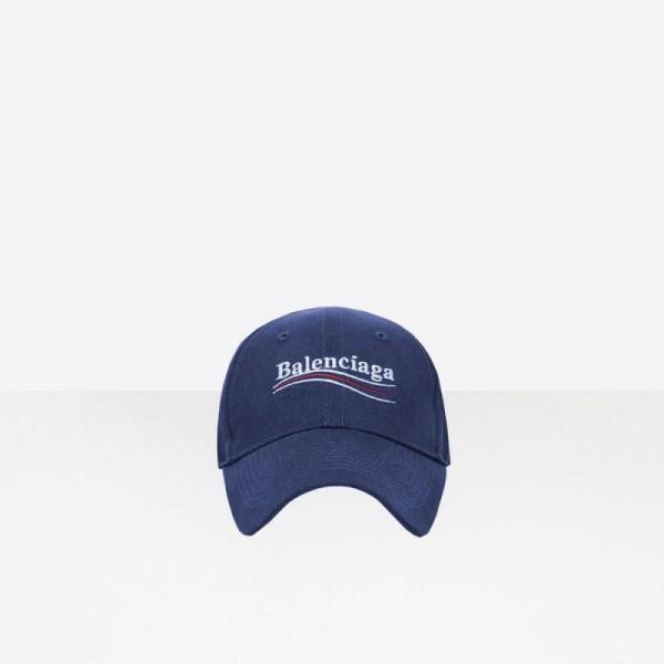 Balenciaga Baseball Şapka Mavi