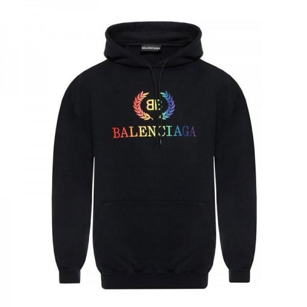 Balenciaga Bb Logo Sweatshirt Siyah