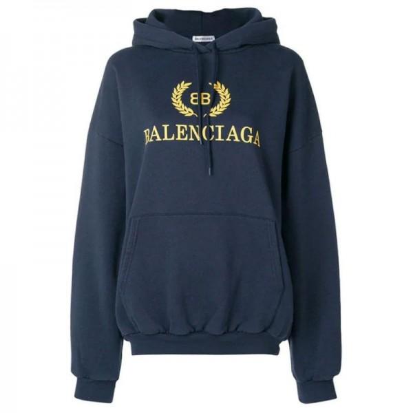 Balenciaga BB Sweatshirt Lacivert Kadın