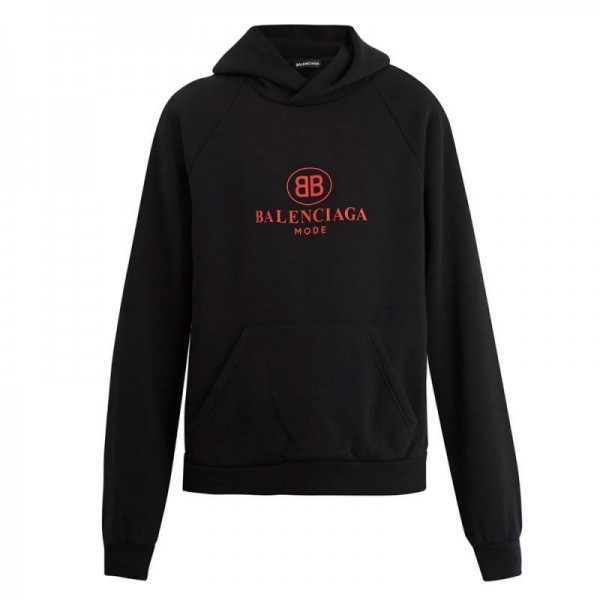 Balenciaga BB Sweatshirt Siyah Erkek