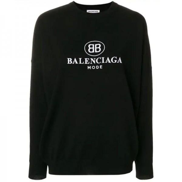 Balenciaga BB Sweatshirt Siyah Kadın