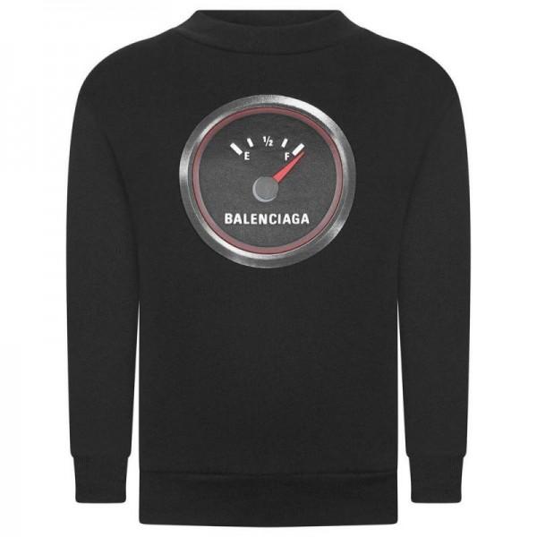 Balenciaga Fuel Sweatshirt Erkek Siyah