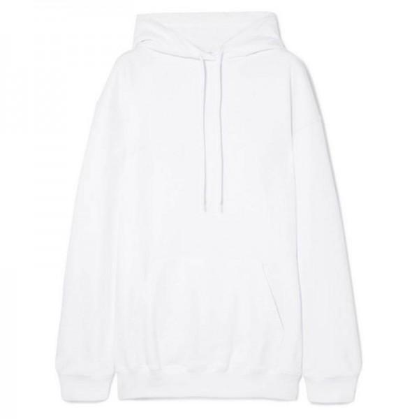 Balenciaga Jersey Sweatshirt Beyaz Kadın