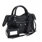Balenciaga Mini City Çanta Kadın Siyah
