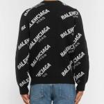 Balenciaga Paris Sweatshirt Siyah Erkek