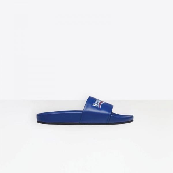Balenciaga Pool Terlik Mavi Kadın