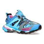 Balenciaga Track Ayakkabı Kadın Mavi