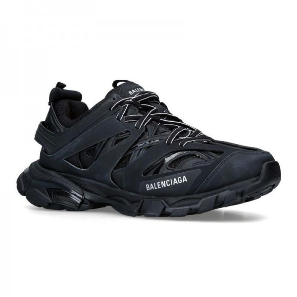 Balenciaga Track Sneakers Kadın Siyah