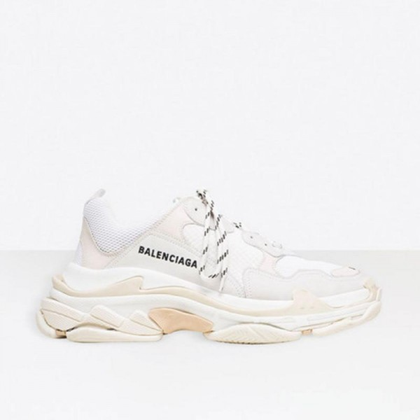 Balenciaga Triple S Ayakkabı Erkek Beyaz