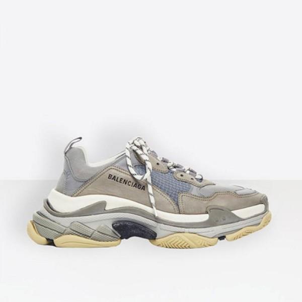 Balenciaga Triple S Sneaker Erkek Gri