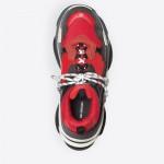 Balenciaga Triple S Sneakers Erkek Kırmızı