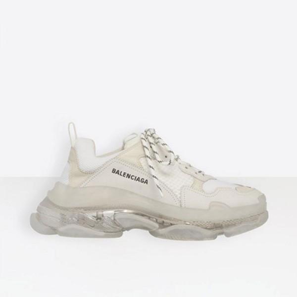 Balenciaga Triple S Sneaker Kadın Beyaz