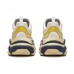 Balenciaga Triple S Trainers Ayakkabı Sarı Erkek