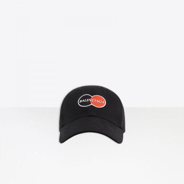 Balenciaga Uniform Şapka Siyah