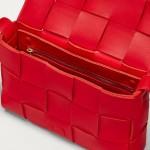Bottega Veneta Cassette Çanta Kadın Kırmızı