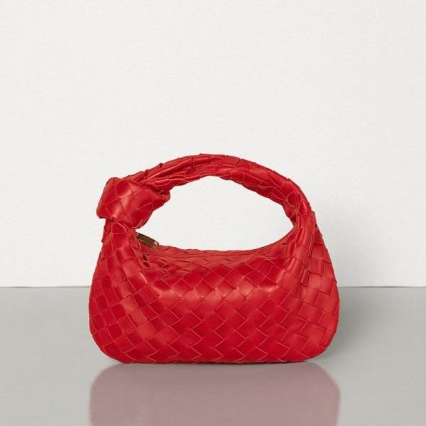 Bottega Veneta Medium Bv Jodie Çanta Kadın Kırmızı