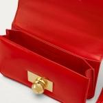 Bottega Veneta Padded Cassette Çanta Kadın Kırmızı