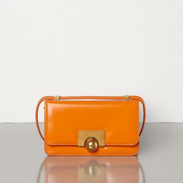 Bottega Veneta Padded Cassette Çanta Kadın Turuncu