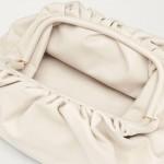 Bottega Veneta The Pouch Çanta Kadın Beyaz