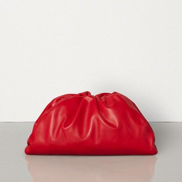Bottega Veneta The Pouch Çanta Kadın Kırmızı