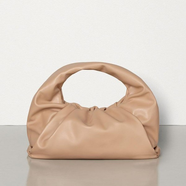 Bottega Veneta The Shoulder Pouch Çanta Kadın Bej