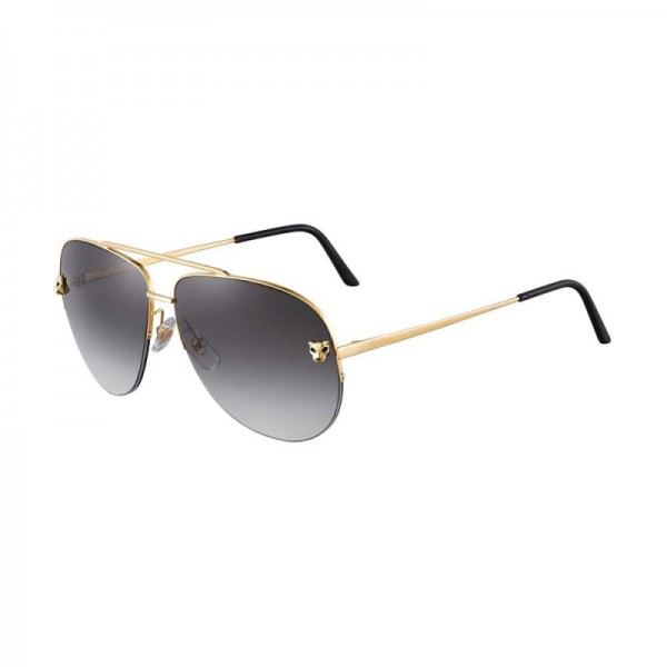 Cartier Panthere Gözlük Gri Güneş Gözlüğü