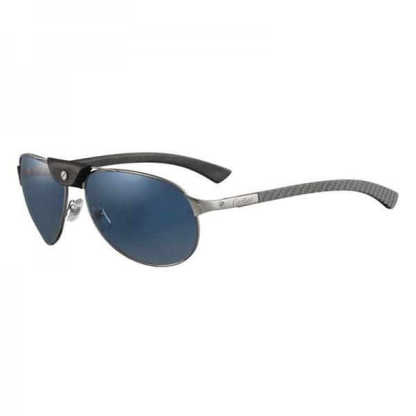 Cartier Santos Gözlük Mavi Güneş Gözlüğü