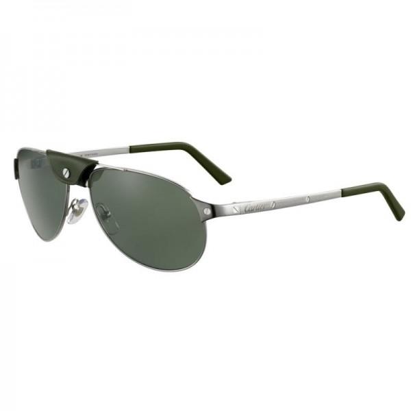 Cartier Santos Gözlük Yeşil Güneş Gözlüğü