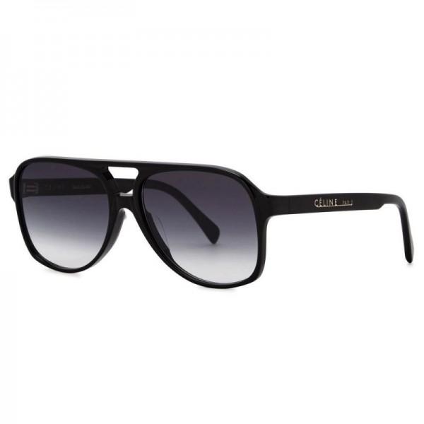 Celine Aviator Gözlük Güneş Gözlüğü Siyah