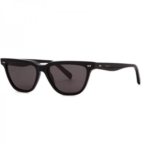 Celine Cat Gözlük Güneş Gözlüğü Siyah