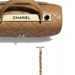 Chanel Grained Çanta Kadın Bej
