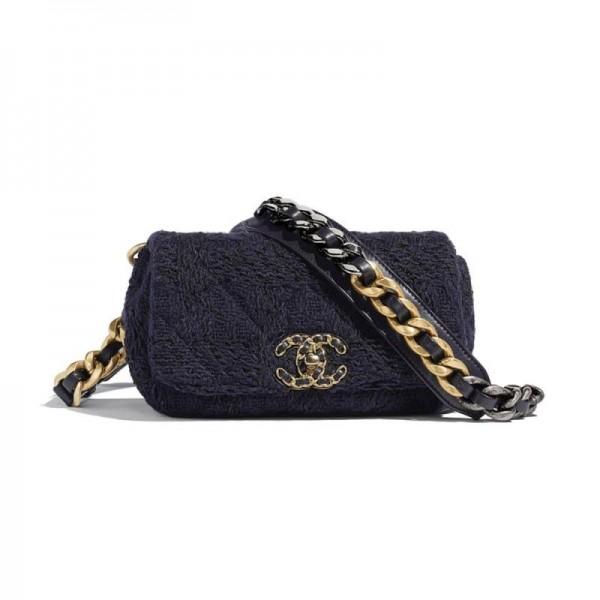 Chanel Grained Çanta Kadın Siyah