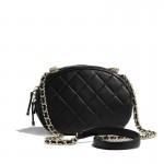 Chanel Logo Çanta Kadın Siyah