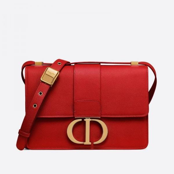 Dior 30 Montaigne Çanta Kadın Kırmızı