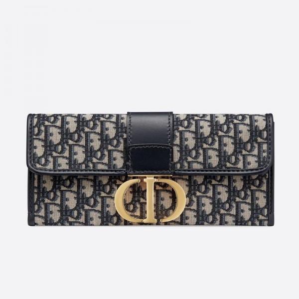 Dior 30 Montaigne Çanta Kadın Mavi