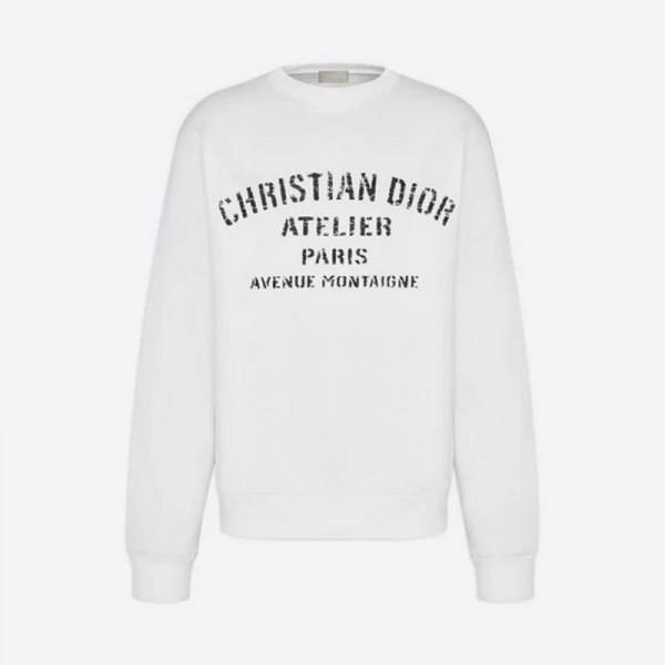 Dior Atelier Sweatshirt Beyaz
