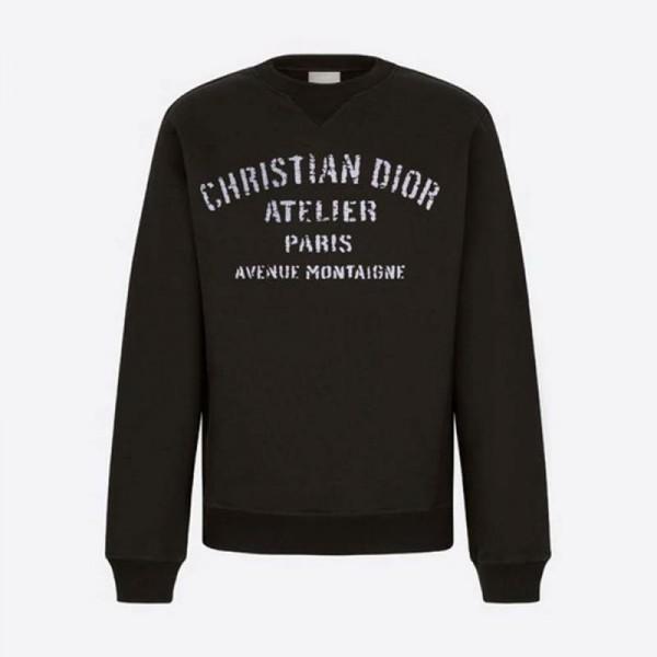 Dior Atelier Sweatshirt Siyah