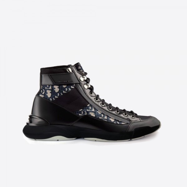 Dior Calfskin Low Bot Ayakkabı Erkek Siyah