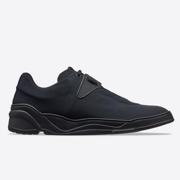 Dior B17 Canvas Ayakkabı Erkek Siyah