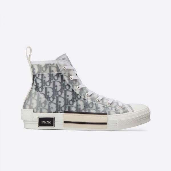 Dior B23 Oblique Ayakkabı Erkek Beyaz
