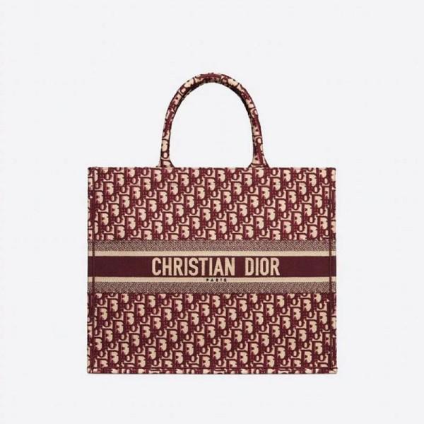 Dior Book Çanta Kadın Bordo