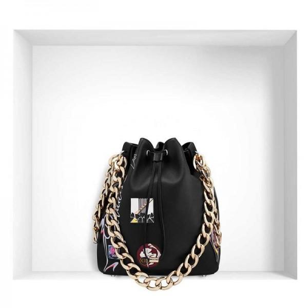 Dior Buble Paradise Çanta Siyah Kadın