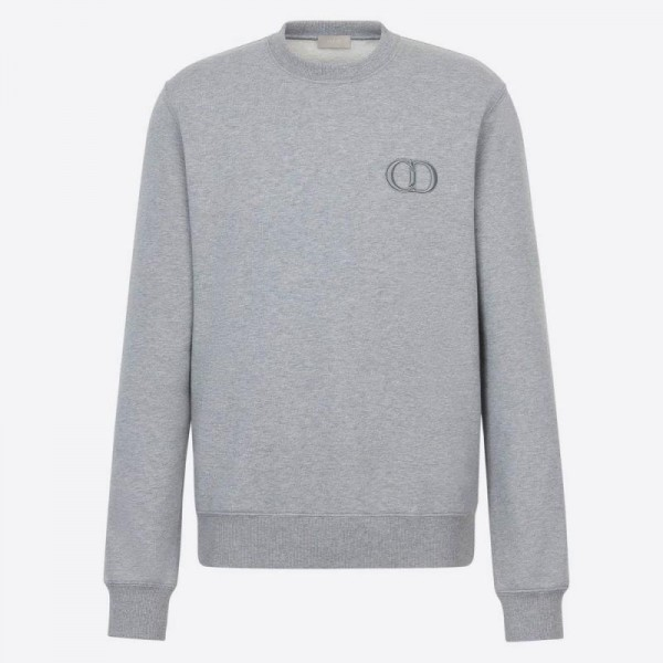 Dior Cd Icon Sweatshirt Erkek Gri