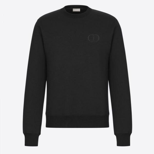 Dior Cd Icon Sweatshirt Erkek Siyah