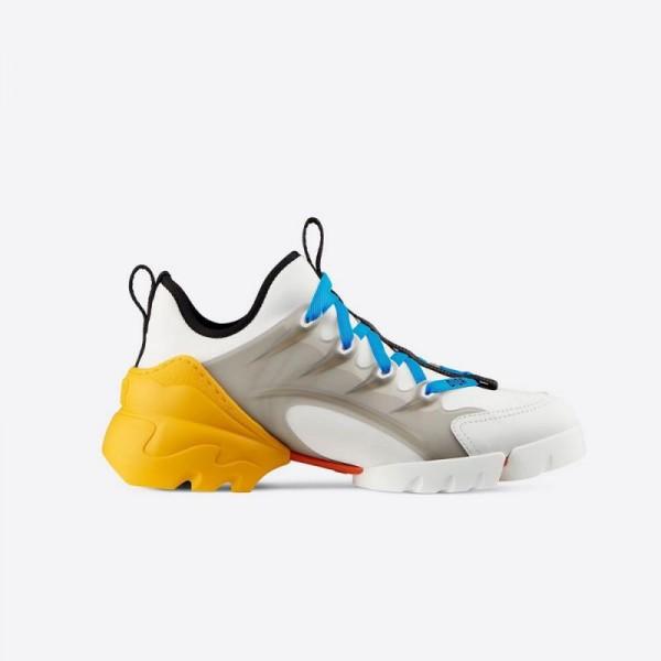 Dior D Connect Neoprene Ayakkabı Kadın Sarı